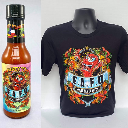 E.A.F.O Sauce & Shirt Bundle