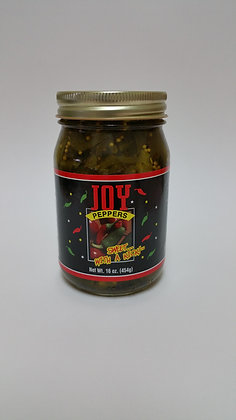 Joy Peppers - Jalapenos With Garlic