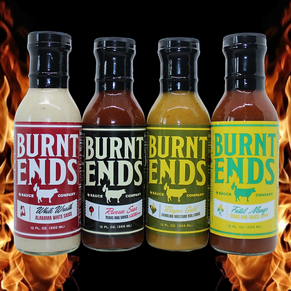 The Burnt Ends Fired Up 4-Pack