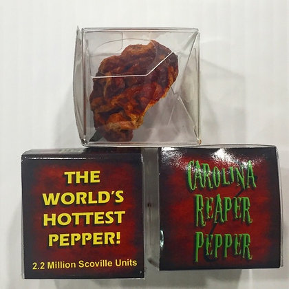 Dried Carolina Reaper - Worlds Hottest Pepper!