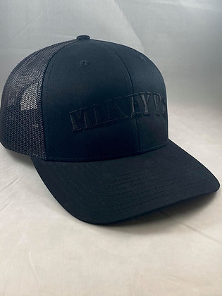 Mikey V's Hat - Black Out