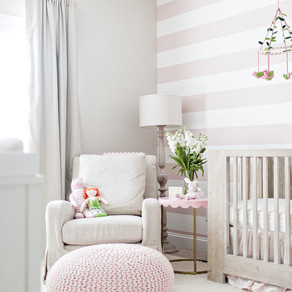 TIPS FOR A SOPHISTICATED & FUNCTIONAL NURSERY