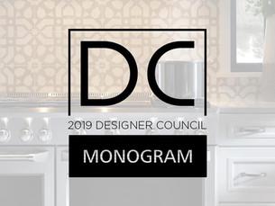 MONOGRAM DESIGNER COUNCIL | MARCH 2019