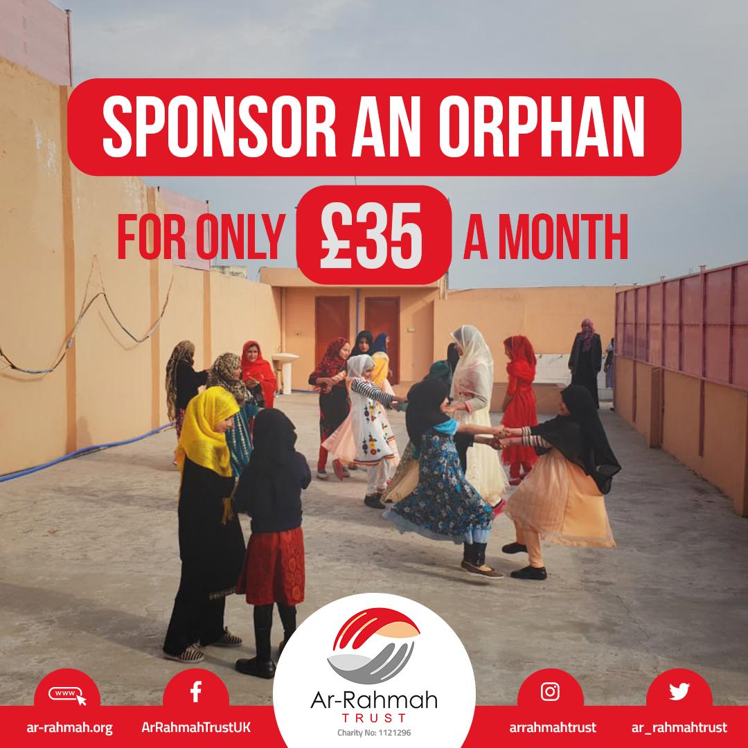 Sponsor An Orphan Today