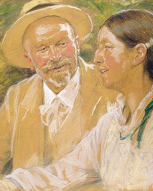 P.S.-Krøyer-Dobbeltportræt-af-Michael-og
