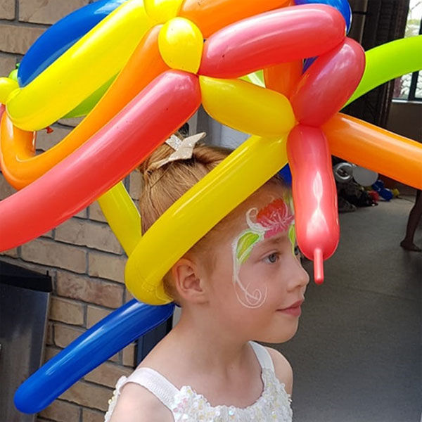 Face Painting & Balloons Twisting (mini)