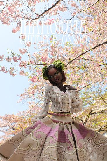 Spring 2021 Cherry Blossom OOAK Fashion