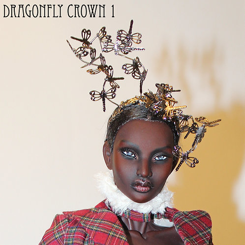 Tartan - Dragonfly Crows - OOAK