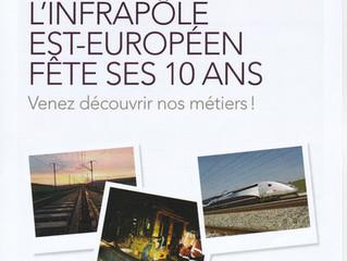 Retrouvez-nous SAMEDI 10 Juin 2017 pour fêter les 10 ans de l'Infrapôle Est-Européen