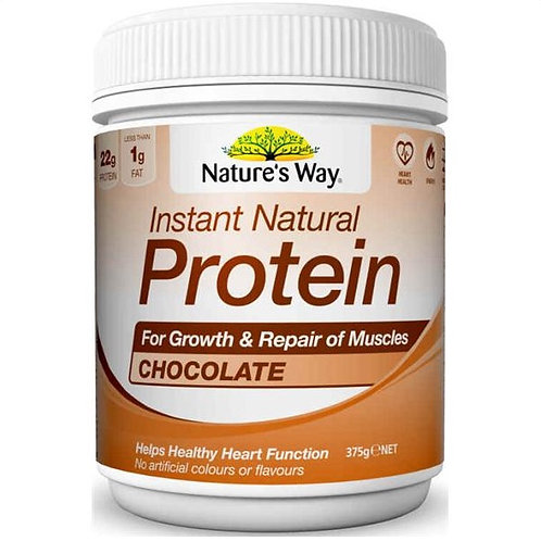 Nature's Way Choc Protein Powder 375g