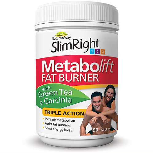 Nature's Way Slim Right Metabolift 90 Tablets