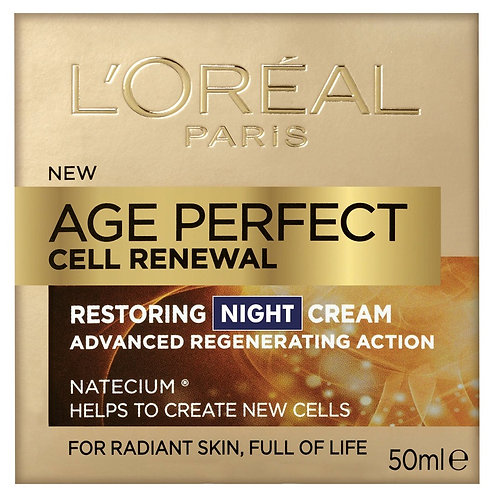 L'Oreal Dermo Age Perfect Cell Renewal Night Cream