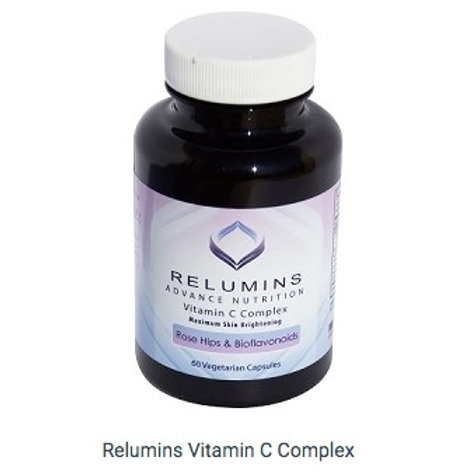 Relumins Advance Nutrition Vitamin C Complex MAX Skin Brightening with Rose Hips