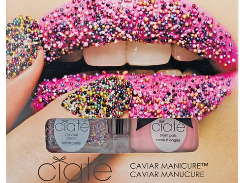 Ciate Caviar Nail Polish Rainbow Set, All Colour