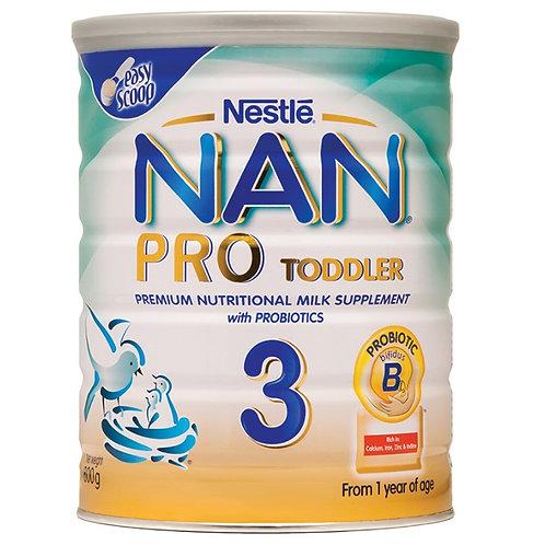Nan Pro 3 Toddler 800g