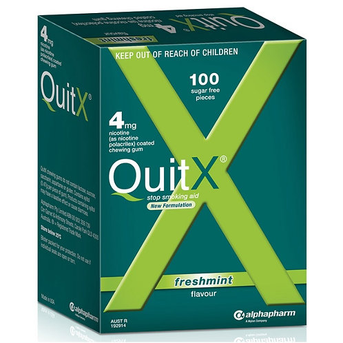 QuitX Gum 4mg Mint 100