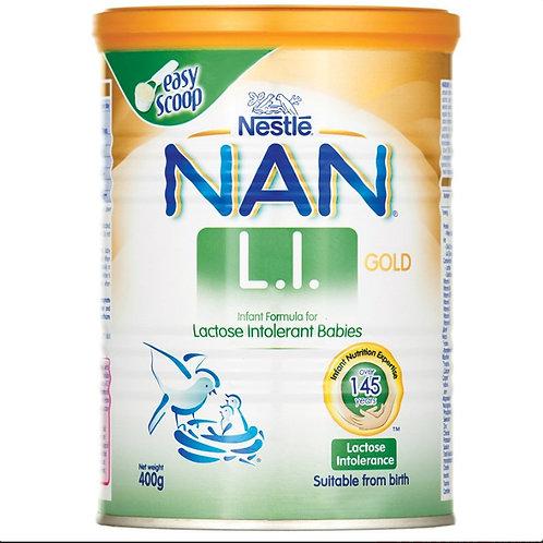 Nan L.I Lactose Intolerance