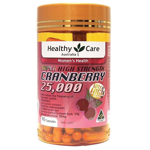 Cranberry 25000 90 Capsules