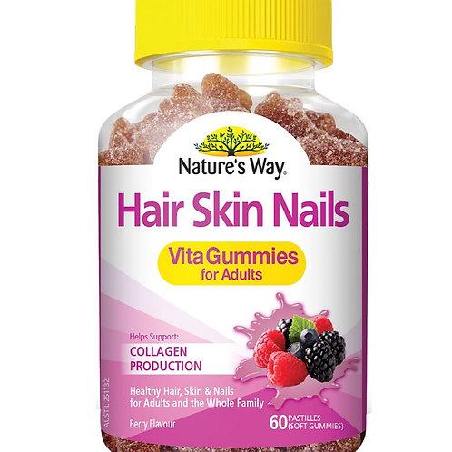 Vita Gummies Hair Skin Nail Adult 60