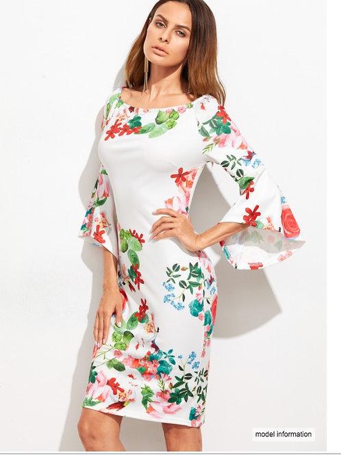 Váy Hoa Tay Loe