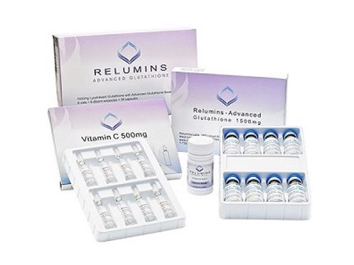 Relumins Advanced Glutathione 2000mg PLUS Booster - Glutathione & Vitamin C with