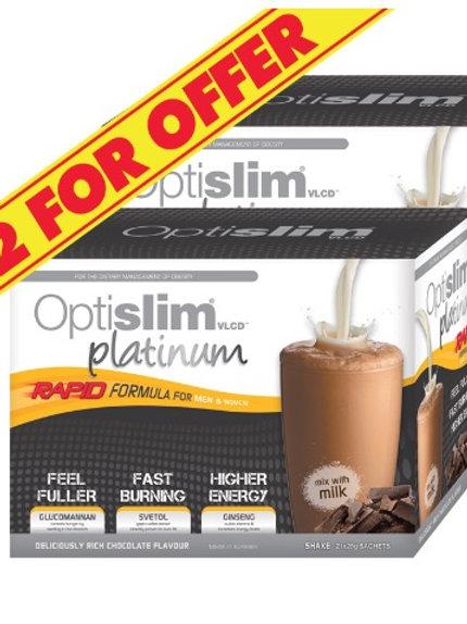 VLCD Platinum Chocolate Shake 21x25g