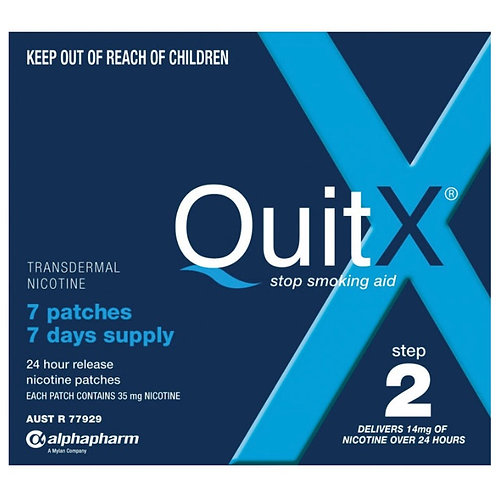 QuitX Patches Step 2 - 7x 24