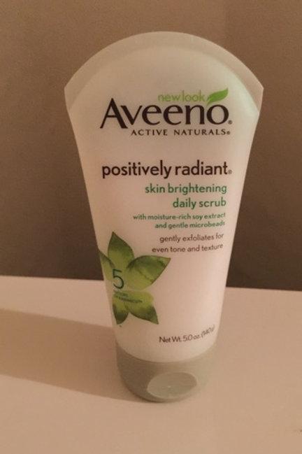 Aveeno brightening face wash