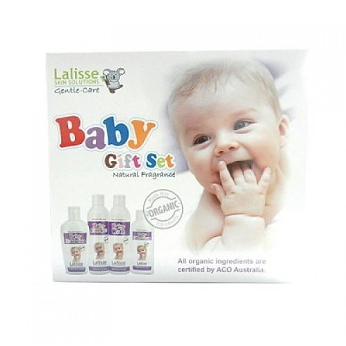 Lalisse Gentle-Care Baby Gift Set (4 in 1)