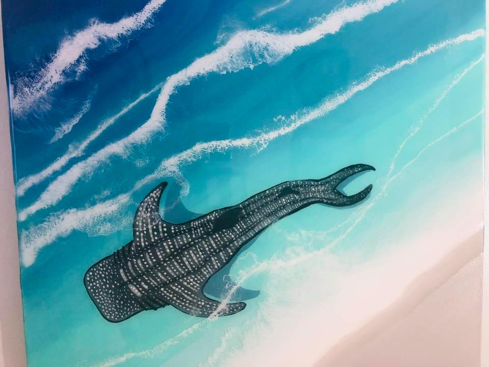 Whale Shark on the Shore