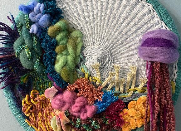Rainbow reef circle weave