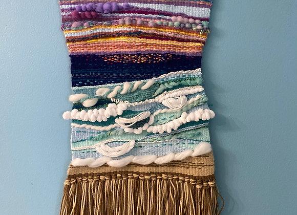 Sunset ocean loom