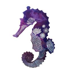 Purple Seahorse Reef