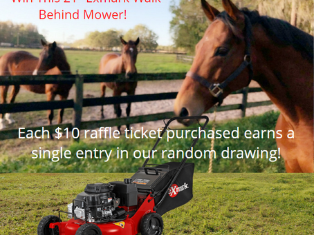 Exmark Mower Giveaway Fundraiser