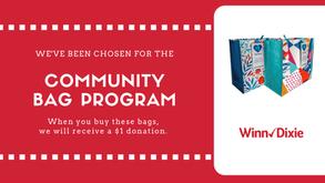 February Fundraiser: Community Bag Program at Winn Dixie