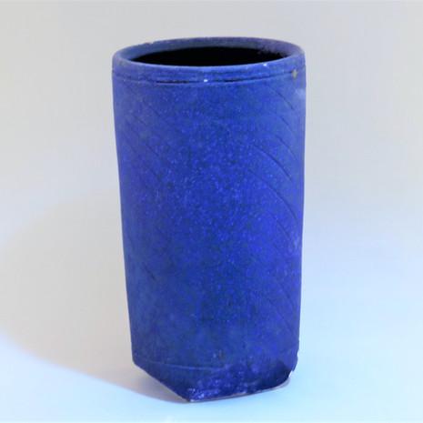 Earthenware barium vase 30cm