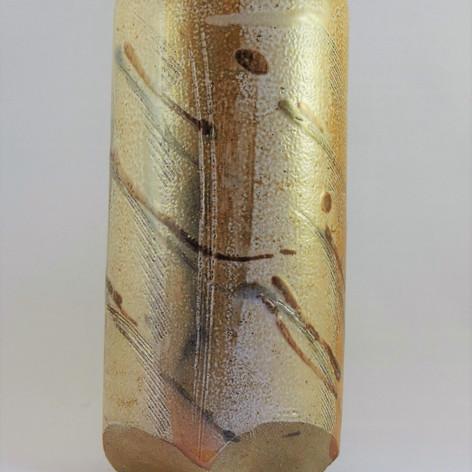 Wood fired saltglazed vessel 20cm