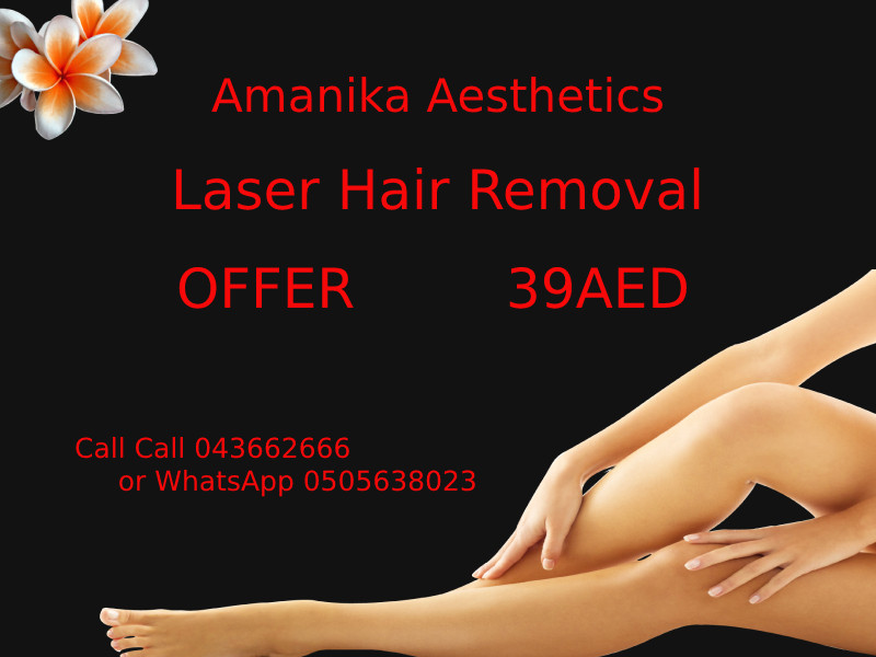 Laser Hair Removal Offer