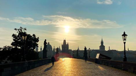 TOP 5 Bilder vom Sonnenaufgang in Prag
