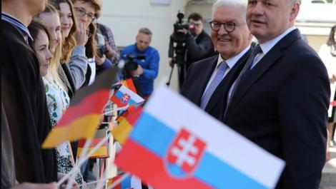 Slowakischer Präsident auf Abschiedstour in Berlin