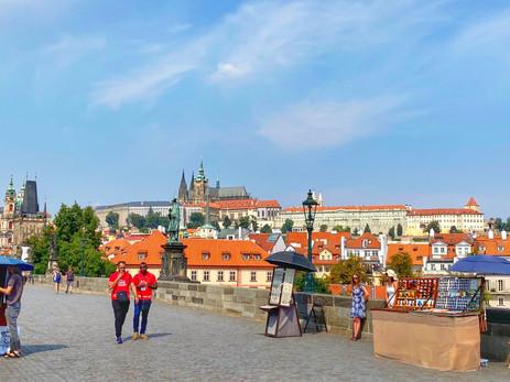 Prag ohne Menschenmassen