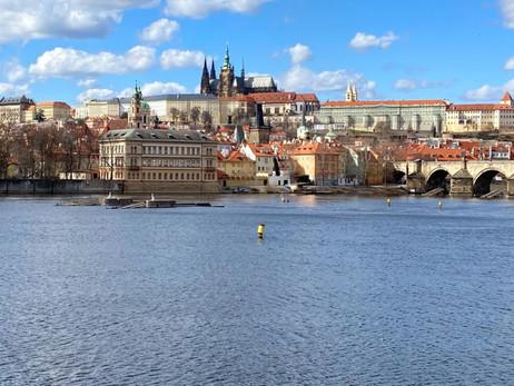Předvelikonoční Praha