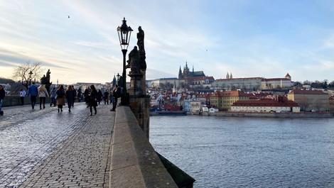 V Praze roztál sníh
