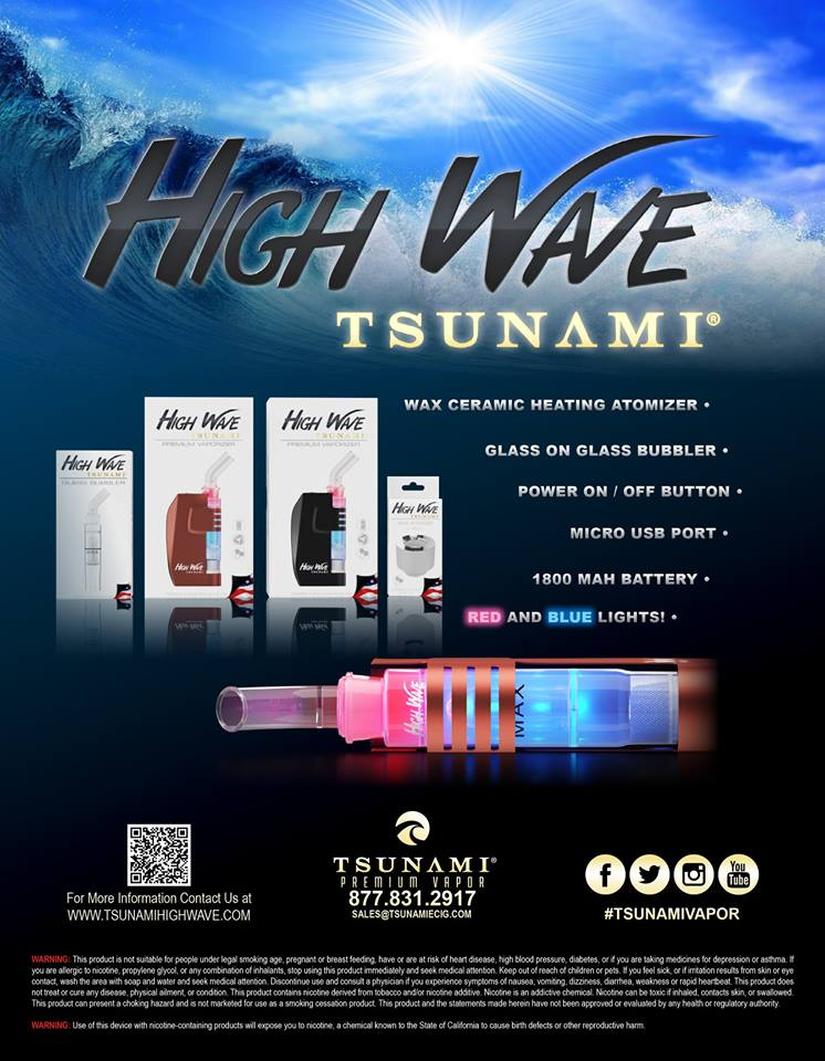 Tsunami High Wave Ad