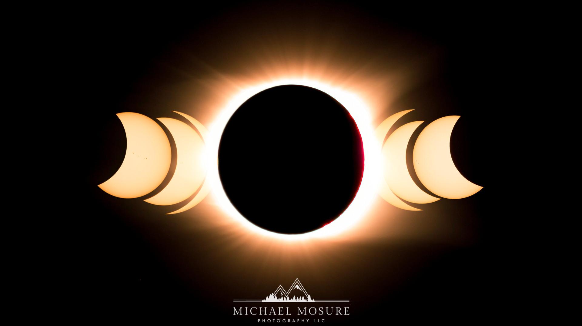 Solar Eclipse Pano, SC