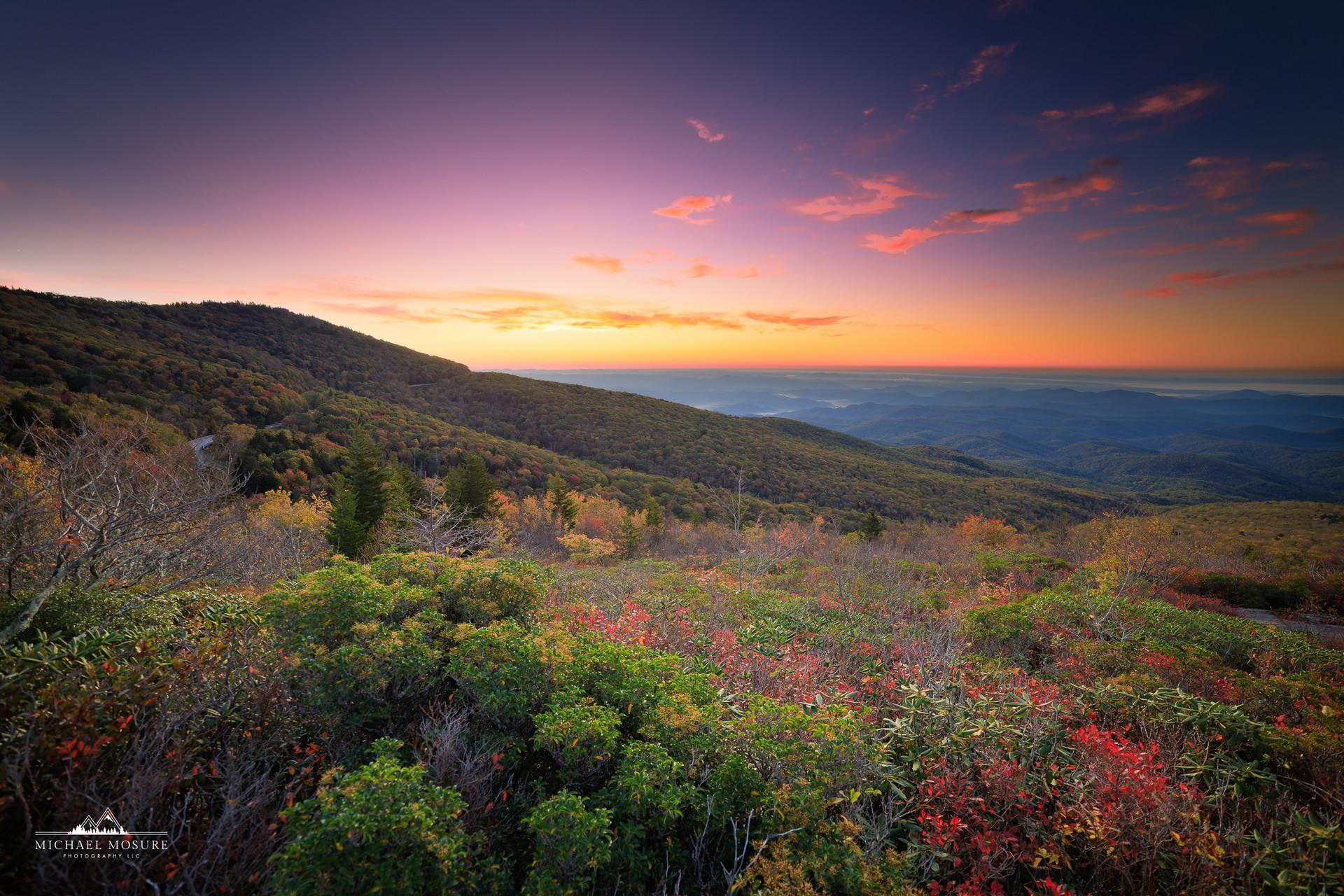 Rough Ridge Autumn Sunrise