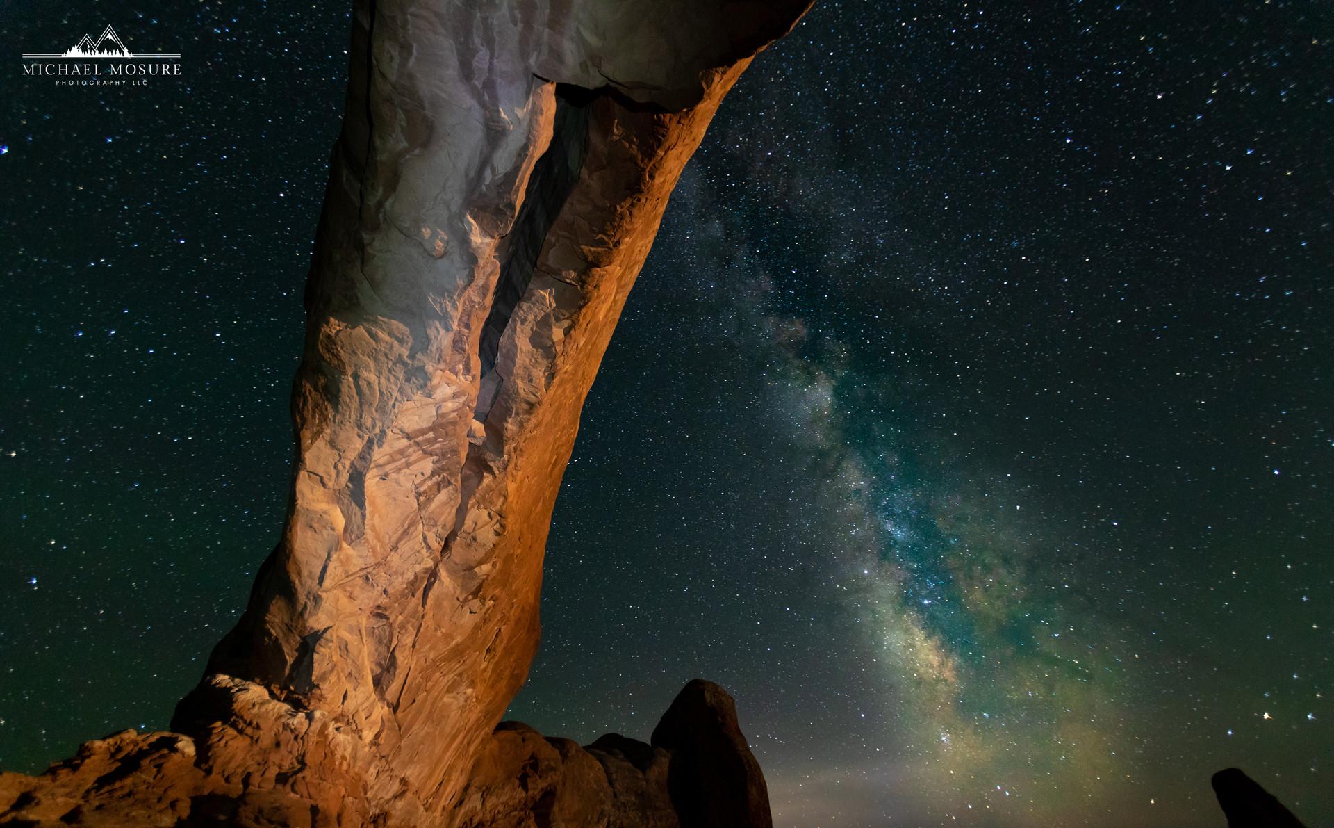 Arches, NP Milky Way Glow