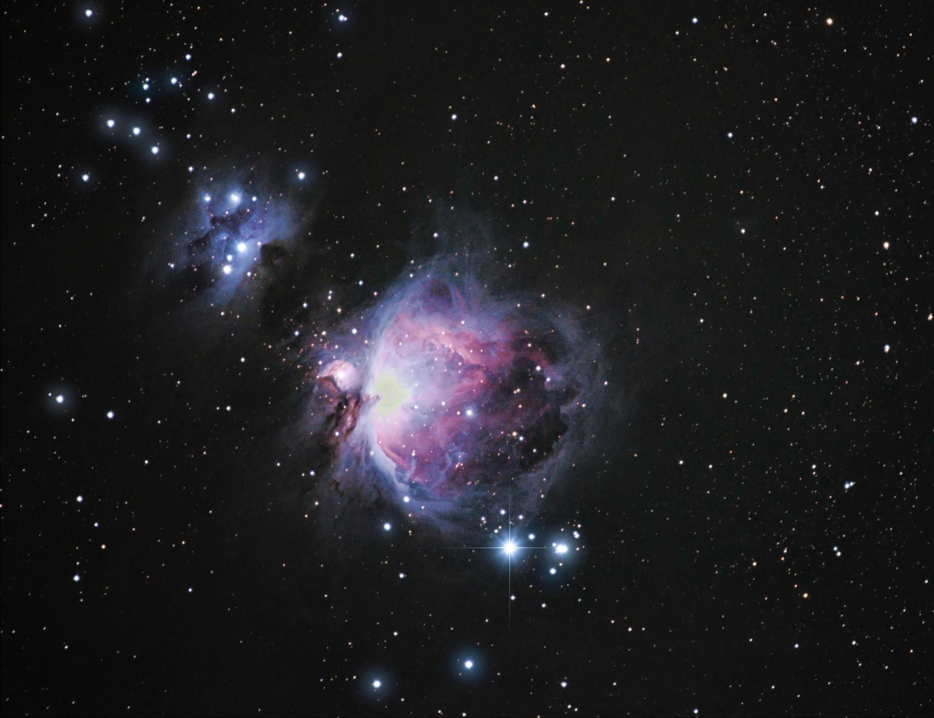 Orion & Running Man Nebulae