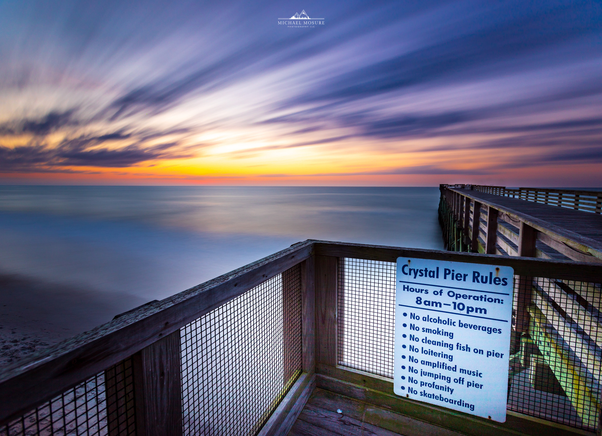 Crystal Pier Rules