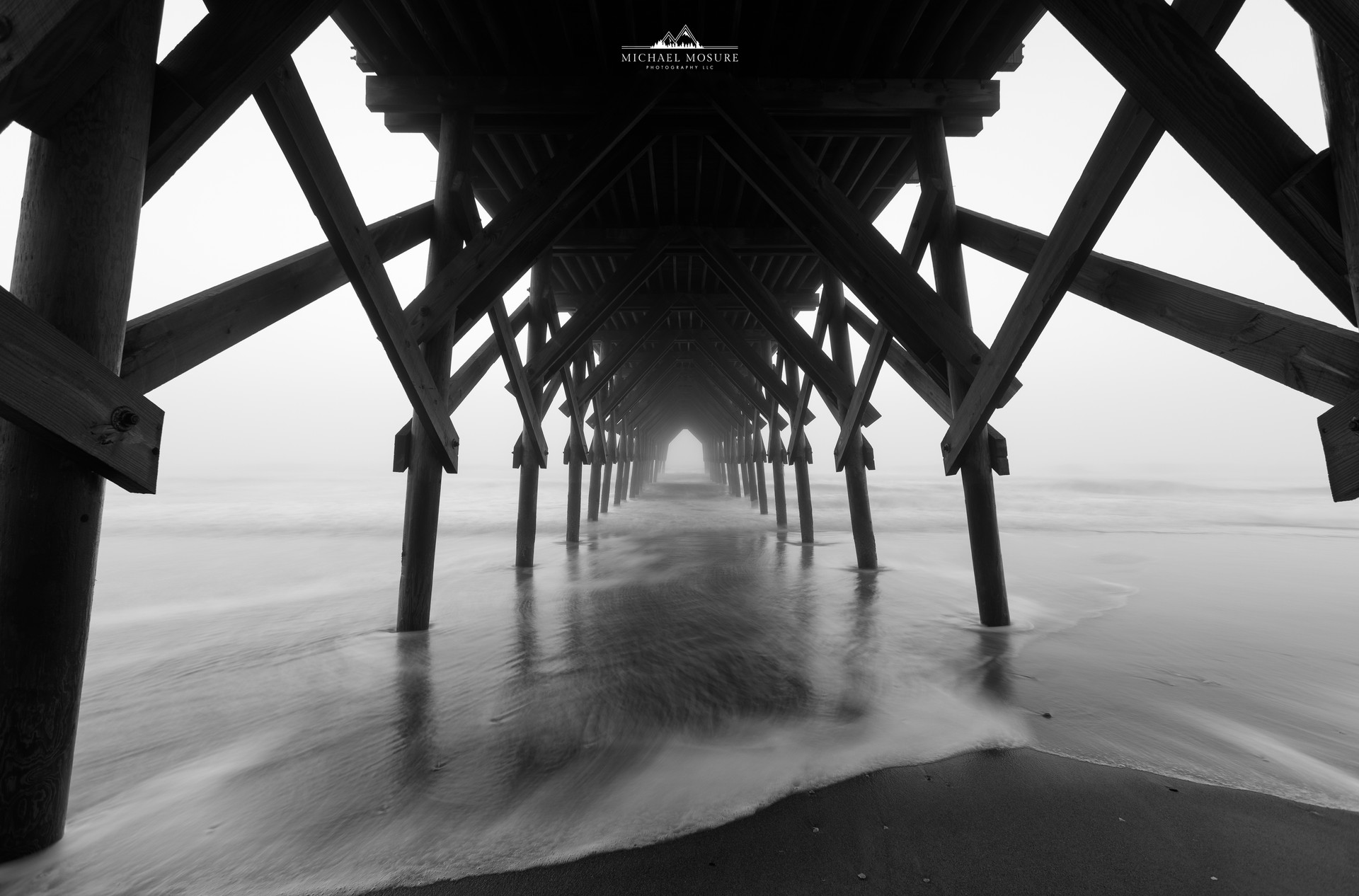 Crystal Pier Foggy Morning